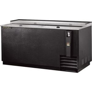 "True TD-65-24 65"" Black Vinyl Bottle Cooler"