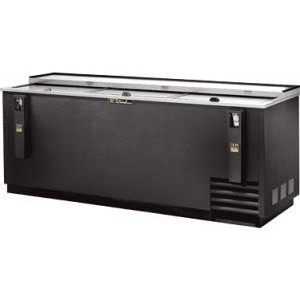 "True TD-80-30 80"" Black Vinyl Bottle Cooler"