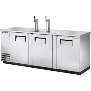 True TDD-4-S Stainless Steel Direct Draw Keg Cooler