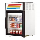 True GDM-5F 1 Swing Glass Door Countertop Merchandiser Freezer