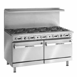 IMPERIAL 10 BURNER RANGE MODEL IR-10