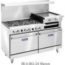 "IMPERIAL 4 BURNER RANGE W/ 36"" GRIDDLE AND 2 STANDARD OVENS MODEL IR-4-G36"