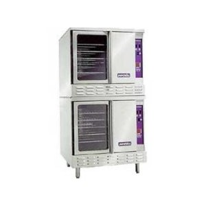 IMPERIAL DOUBLE DECK CONVECTION OVEN MODEL ICV-2 GAS
