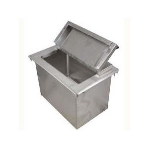 "New BK Resources 1 Comp Drop-In Ice Bin 12"" x 18"" Model: BK-DIBL-1218"