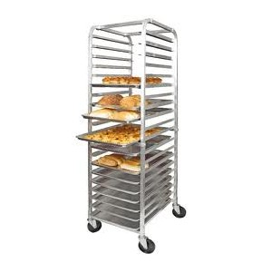 New Aluminum Bun Rack 20 slot  Model ALRK20