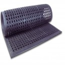 New Rubber Floor Matt 3 x 5 Anti Fatique Black