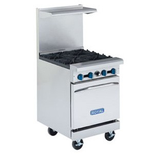NEW Royal 4 Burner Range Model RR-4
