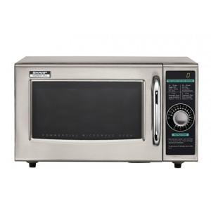 SHARP Medium Dial Turn Commercial Microwave R-21LCF
