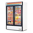 True GDM-49F Swing Glass 2 Door Merchandiser Freezer