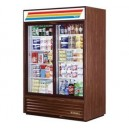 True GDM-47 2 Door Sliding glass Merchandiser Refrigerator