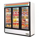 True GDM-72F 3 Door Swing Glass Merchandiser Freezer